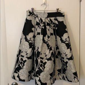 Eliza J jacquard skirt